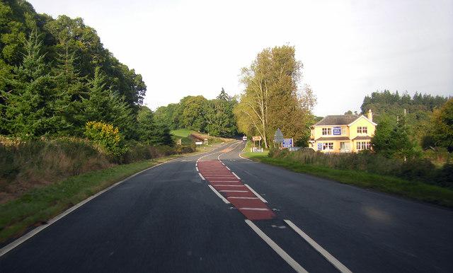A82 at Dochgarroch by Peter Bond