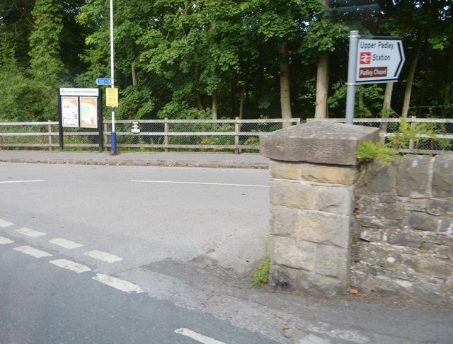 Turn off to Grindleford Station