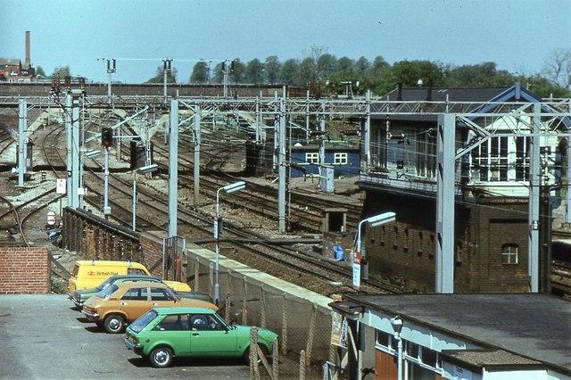 Lichfield Trent Valley Low Level Station