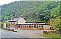 NR8390 : Cairnbaan Hotel, by Crinan Canal, 1994 by Ben Brooksbank