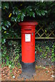 TR1436 : Victorian Postbox, Sandling Station by N Chadwick