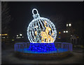 J5081 : Christmas decoration, Bangor by Rossographer