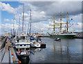 J3475 : Ships, York Dock, Belfast by Rossographer