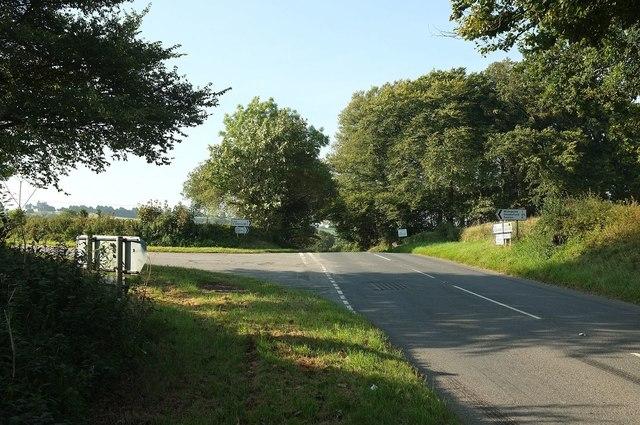 Junction on B3252