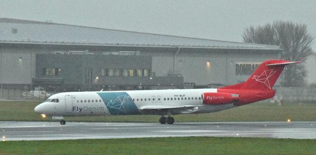 PH-MJP, George Best Belfast City Airport - December 2015(1)