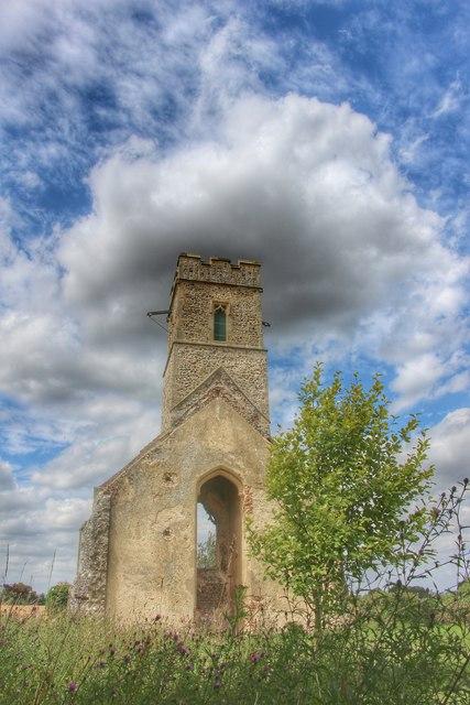 All Saints church ruin, Panxworth