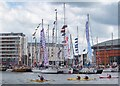 J3475 : The Abercorn Basin, Belfast by Rossographer