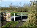 TL3473 : Small paddock on Bluntisham Road by Richard Humphrey