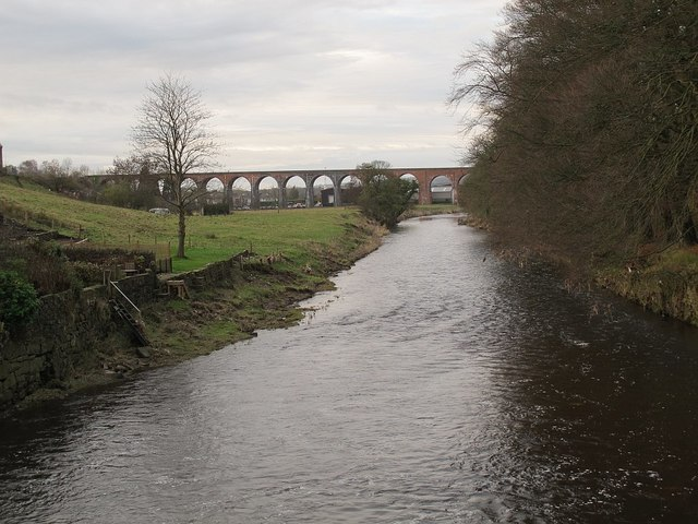 River Calder at Whalley