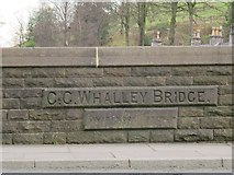 SD7335 : Whalley Bridge - detail by Stephen Craven