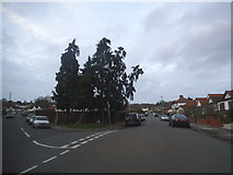 TQ1090 : Alandale Drive at the junction of Dale Close by David Howard