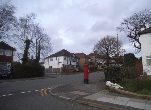 Potter Street at the corner of Alandale Drive