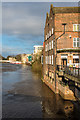 SE6051 : River Ouse from Ouse Bridge by Ian Capper