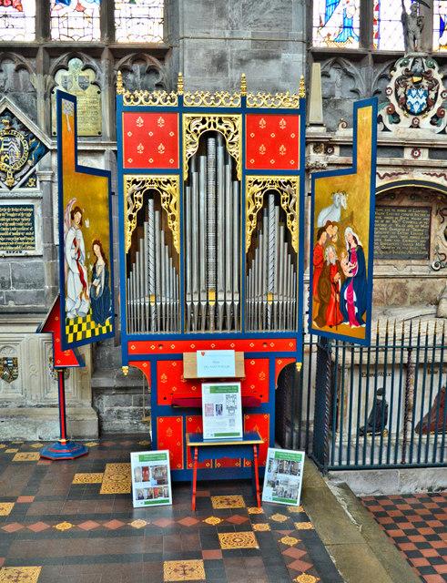 Replica Medieval Organ, Ludlow