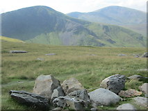 SH5956 : Moel Eilio group from the Llanberis Path by Peter S