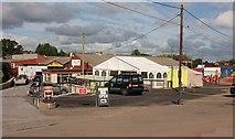ST0207 : New cafe, Alexandria Industrial Estate by Derek Harper