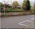 SJ8004 : Warning sign - staggered crossroads ahead, Newport Road, Albrighton by Jaggery