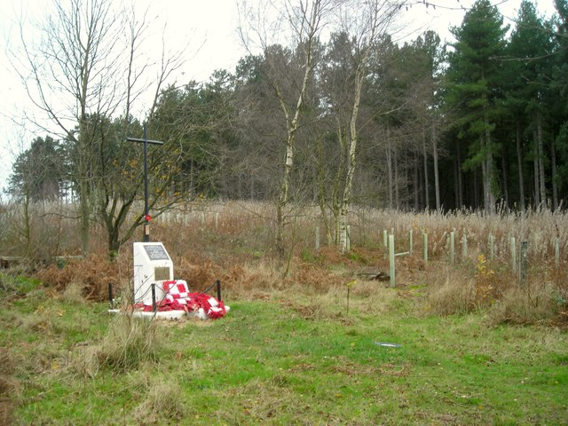 Watchwood Plantation and Polish Cross Memorial