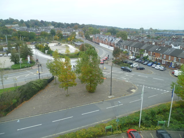 View from the Holiday Inn, Carrow Road, Norwich