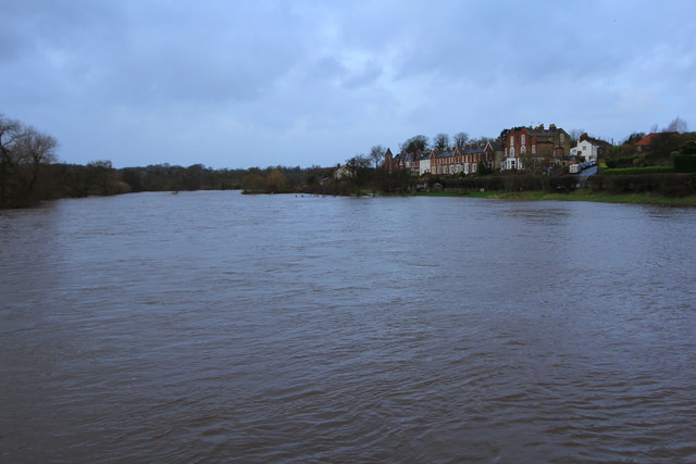 River Ure Floodplain at Ure Bank on 06/12/2015