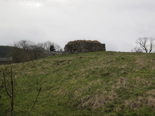 Pill Box, Newtown, near Rothbury