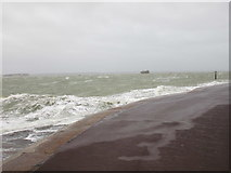 SZ6497 : Storm at Southsea by Jonathan Thacker