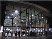 TQ3979 : North Greenwich tube station (2) by Mike Quinn