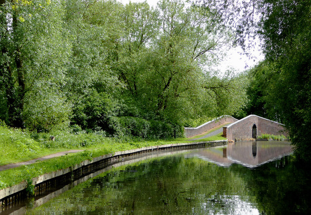 Canal south of Kidderminster, Worcestershire