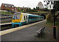 SO5174 : Northbound train arrives at Ludlow by Jaggery