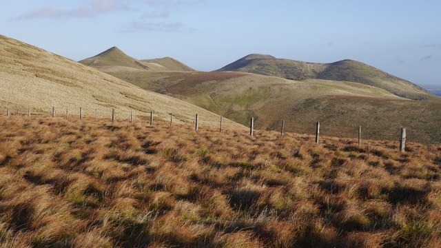 Between Spittal Hill and Green Law