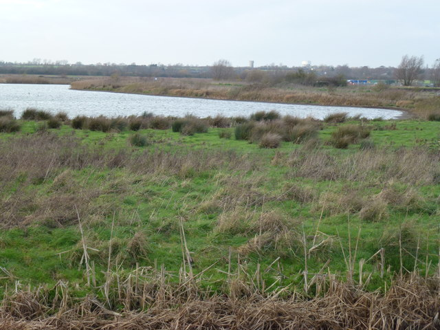 Former sand and gravel pit on Ouse Fen near Over