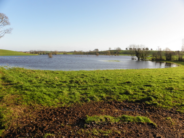 Flooded countryside, Guiness