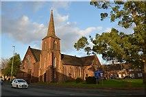 SJ8643 : Trent Vale: St John's Church by Jonathan Hutchins