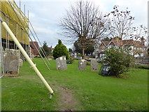 TQ5802 : St Mary, Willingdon: churchyard (a) by Basher Eyre
