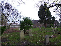 TQ5802 : St Mary, Willingdon: churchyard (h) by Basher Eyre