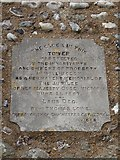 TQ5802 : St Mary, Willingdon: memorial (1) by Basher Eyre