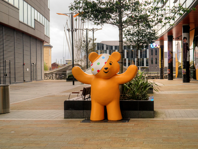 Pudsey Outside the BBC