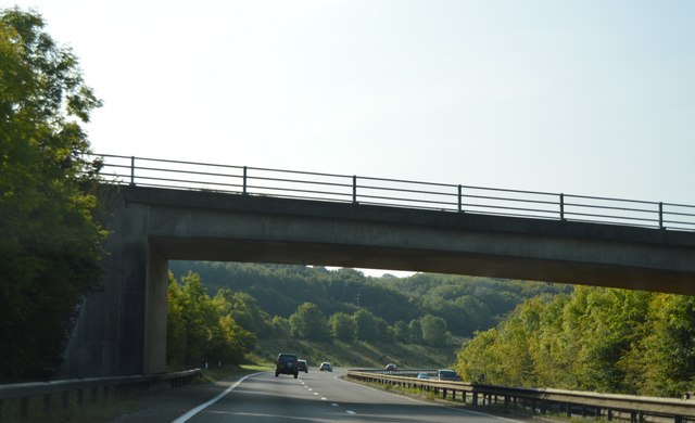 B3344 bridge, A38