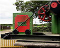 SZ5589 : Old railway crane detail, Havenstreet by Jaggery