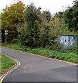SU9677 : Meadow Lane Weir electricity substation, Eton by Jaggery