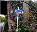 SU9677 : Signpost in Eton two miles from Slough by Jaggery