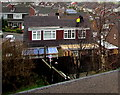 ST3090 : Roofers at work in Malpas, Newport by Jaggery