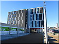 ST3088 : East side of the Admiral office block in Newport city centre by Jaggery