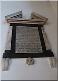 TQ5802 : St Mary, Willingdon: memorial (13) by Basher Eyre