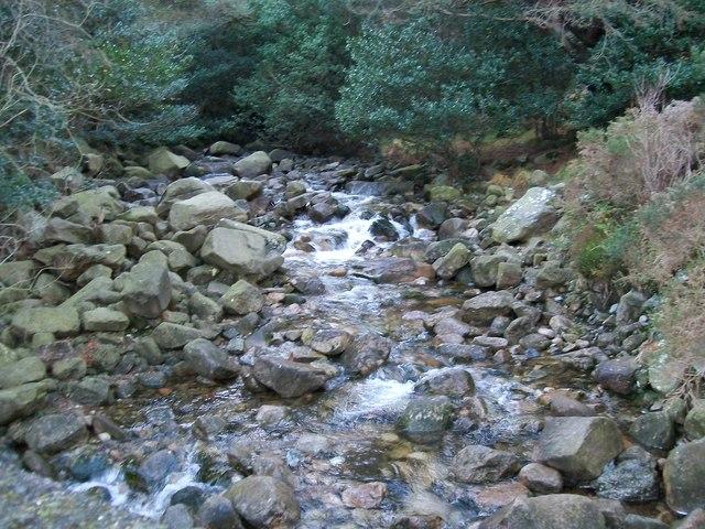 The Glen River upstream of the Sonny's Bridge
