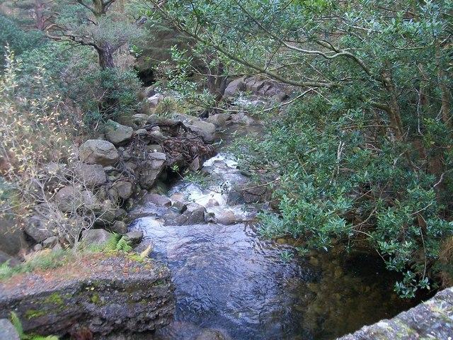 The Glen River below Sonny's Bridge