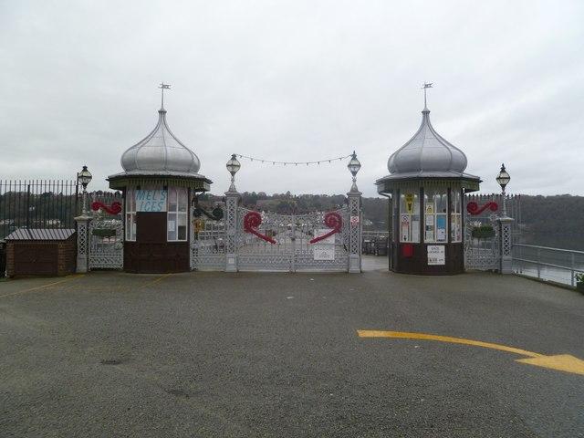 Bangor Pier gates