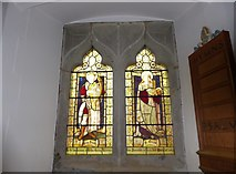 TQ5802 : St Mary, Willingdon: stained glass window (II) by Basher Eyre