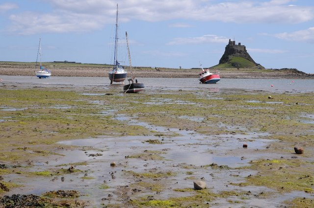 View to Lindisfarne Castle