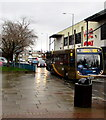 ST2995 : X24 Stagecoach Gold in Cwmbran town centre by Jaggery
